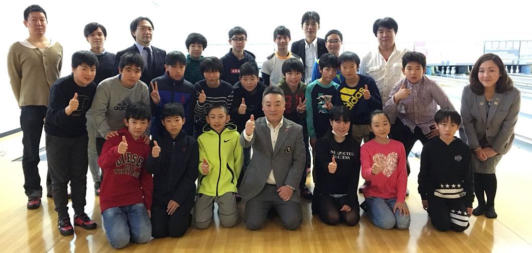 2018年度受験生、有基塾合格おめでとうボーリング大会